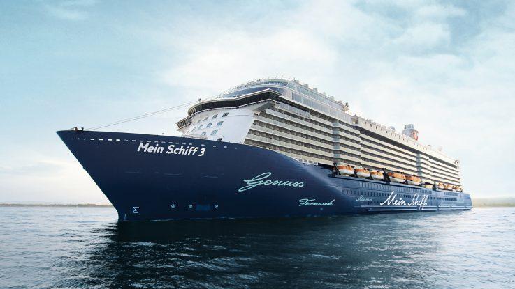 Die Mein Schiff 3. Foto: TUI Cruises