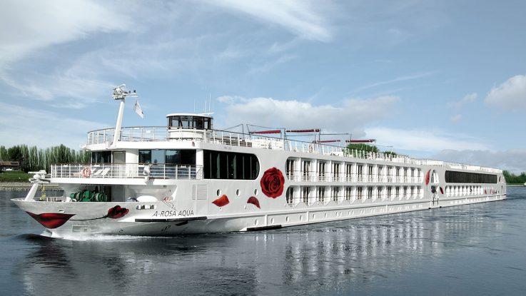 Die A-Rosa Aqua. Foto: A-ROSA Flussschiff GmbH