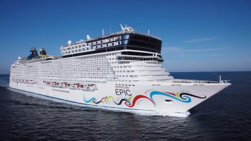 Die Norwegian Epic. Foto: Norwegian Cruise Line