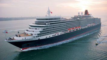 Die Queen Elizabeth. wird 2018 wieder Lübeck-Travemünde anlaufen. Foto: Cunard Line