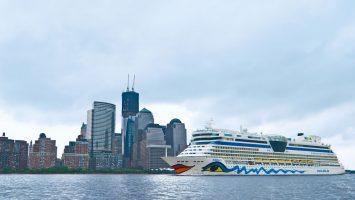 Bei der Verlockung der Woche mit AIDA auf New York in die Karibik starten. Foto: AIDA Cruises