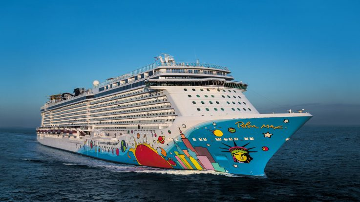Die Norwegian Breakaway. Foto: Norwegian Cruise Line