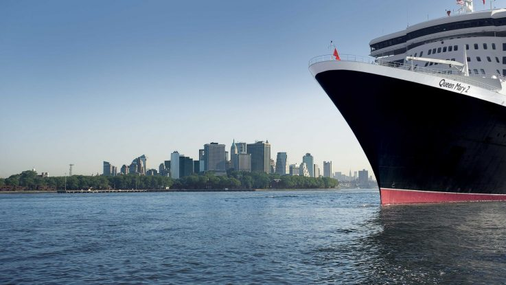 Mit der Queen Mary 2 nach New York. Foto: Cunard Line