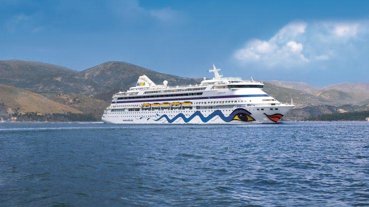 2019 startet die AIDAaura zur Weltreise. Foto: AIDA Cruises