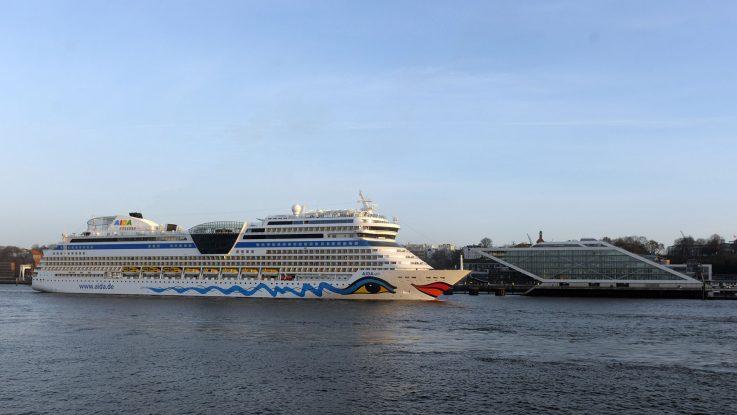 Die AIDAsol beendet heute ihre Hamburgsaison. Foto: AIDA Cruises