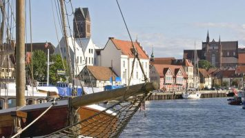 Der Alte Hafen von Wismar. Foto: Volster & Presse HWI