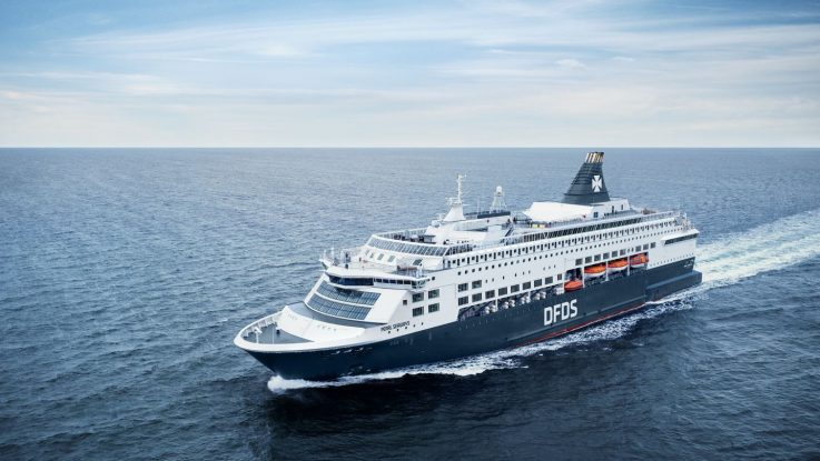 Die Pearl Seaways. Foto: DFDS Seaways
