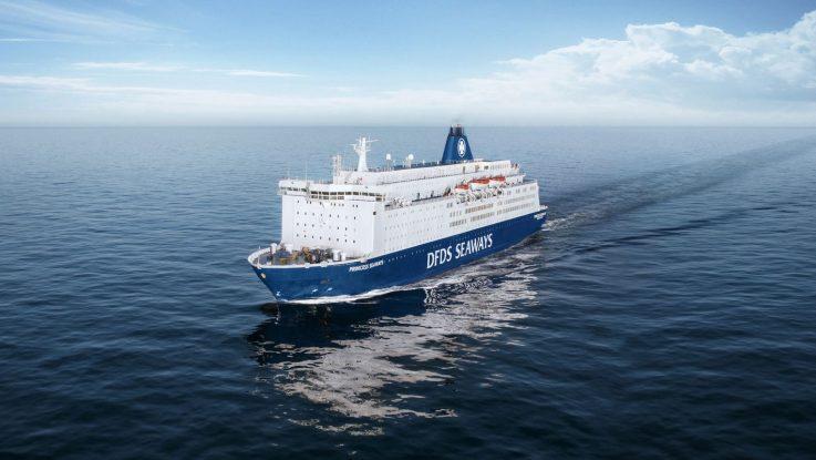 Die Princess Seaways. Foto: DFDS Seaways