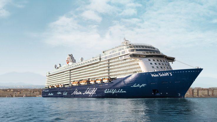 Mein Schiff 3 im Wochenangebot. Foto: TUI Cruises