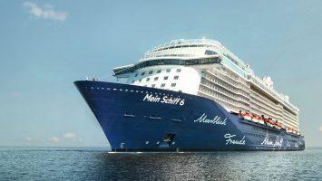 Die Mein Schiff 6 bietet ab September 2017 Routen in Nordamerika an. Foto: TUI Cruises