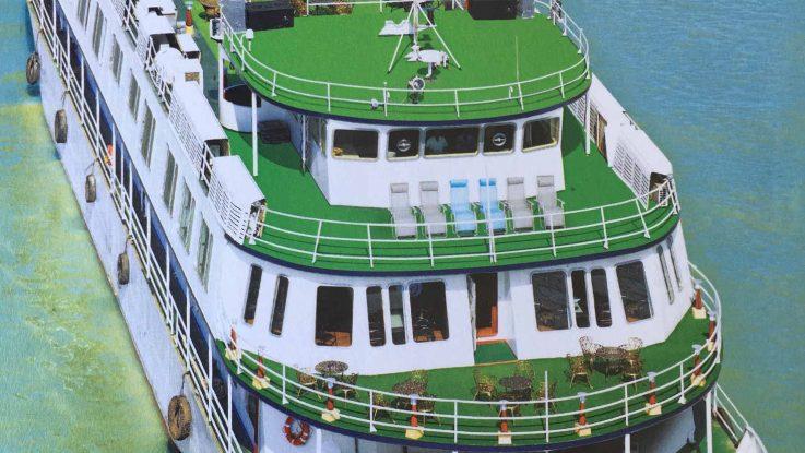 Die MS Paramhamsa. Foto: 1AVista Reisen