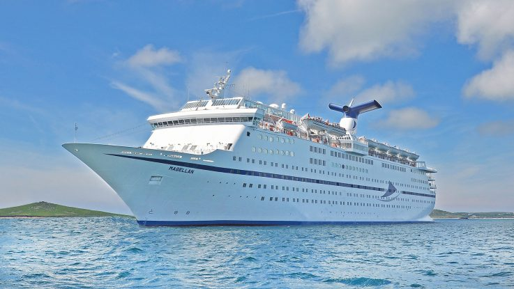 Mit der Magellan auf Weltreise. Foto: TransOcean Kreuzfahrten