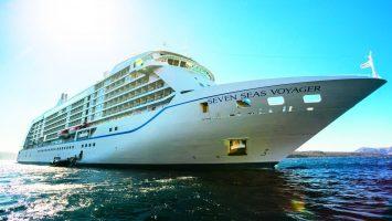 Schön wie nie, die Seven Seas Voyager. Foto: Regent Seven Seas Cruises