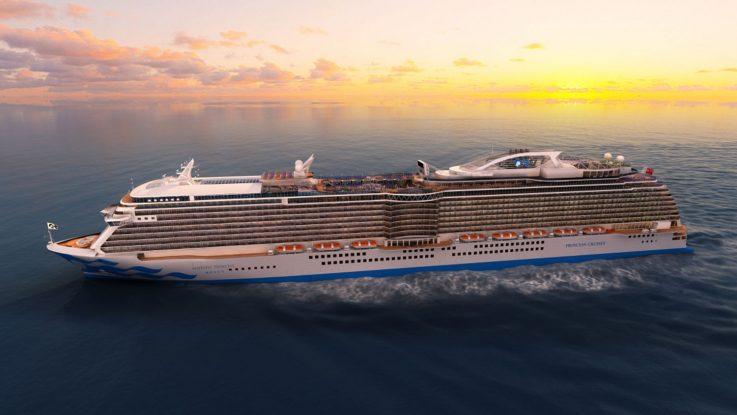 Majestic Princess - Jungfernfahrt im Mittelmeer. Foto: Princess Cruises