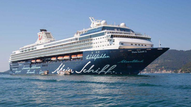 Mit der Mein Schiff 2 auf World Club Cruise. Foto: TUI Cruises