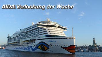 Bei der AIDA Verlockung der Woche winken tolle Reisen zu Traumpreisen, Foto: AIDA Cruises