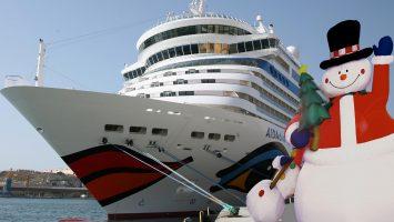 Eine Kreuzfahrt als Weihnachtsgeschenk? Sag es mit Musik. Foto: AIDA Cruises
