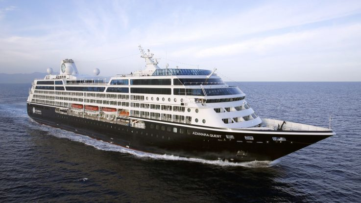 Auf ausgewählten Kreuzfahrten sind bei Azamara derzeit Flüge im Preis inbegriffen. Foto: Azamara Club Cruises