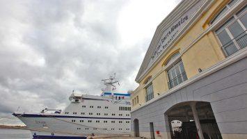 Erstanlauf der Berlin auf Cuba. Foto: FTI-Cruises