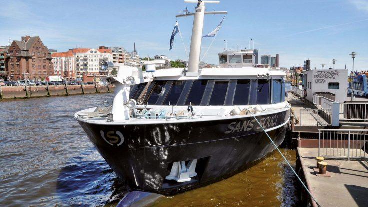 Die MS Sans Souci. Foto: PLANTOURS Kreuzfahrten