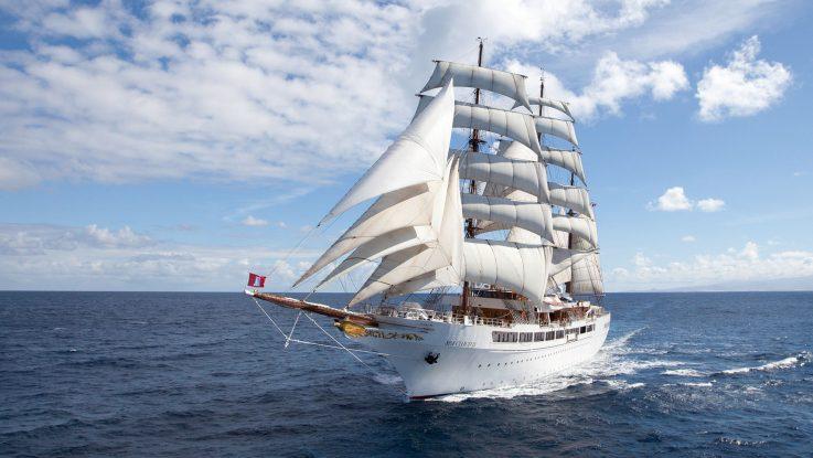 die Sea Cloud II. Foto: Sea Cloud Cruises