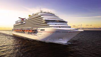 Die Carnival Horizon debütiert im 2018 im Mittelmeer. Illustration: Carnival Cruise Line