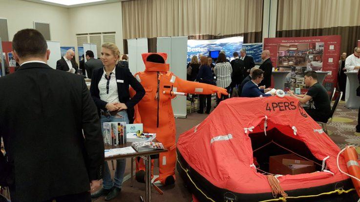 Messe für Traumjobs auf Traumschiffen in Hamburg. Foto: Connect