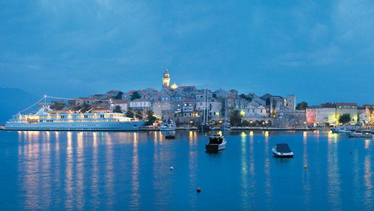 Mit der MS La Belle de l'Adriatique die Inselwelt Koratiens erleben. Foto: Croisi Europe