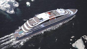 Vier Schiffe der Ponant Explorers-Serie werden bis 2019 in Dienst gestellt. Illustration: Ponant - Sterling Design International