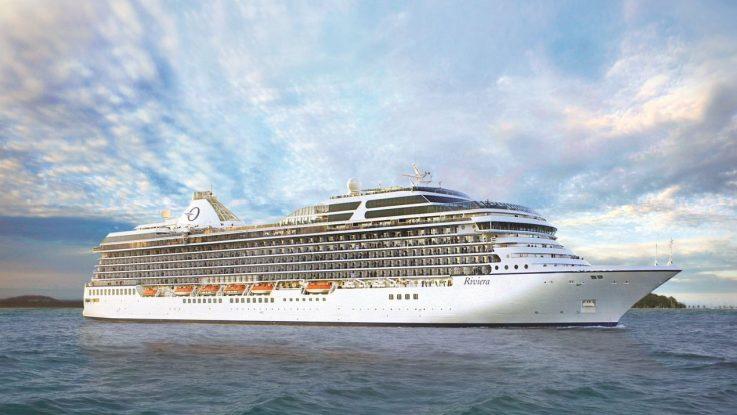 Die MS Riviera. Foto: Oceania Cruises
