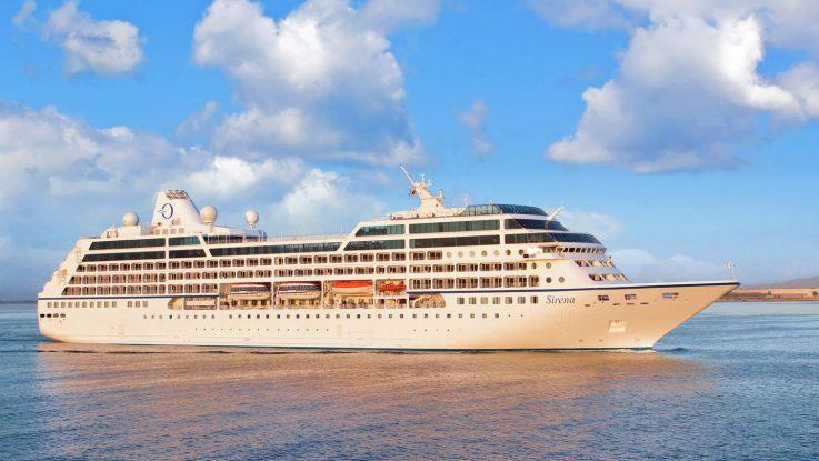 Die MS Sirena. Foto: Oceania Crusies