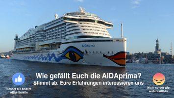 Nach einem Jahr: Wie gefällt Euch die AIDAprima im Vergleich zu anderen Schiffen der Flotte? Foto: lenthe/touristik-foto.de