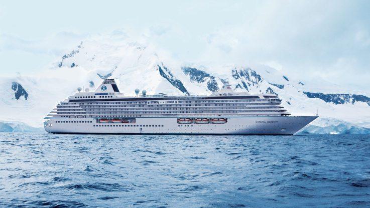 Die Crystal Serenity wird auch 2017 die Nordwestpassage fahren. Foto: Crystal Cruises