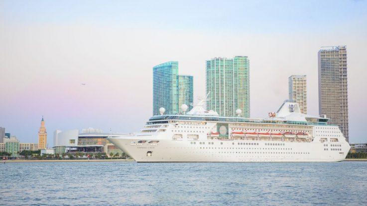 Die Empress of the Seas. Foto: Royal Caribbean International