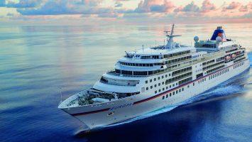Die MS Europa. Foto: Hapag Lloyd Cruises