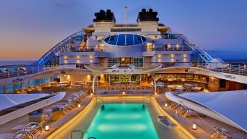 Das Pool Deck. Foto: Seabourn Cruise Line