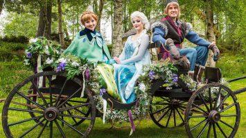 Ein Höhepunkt der Die schönsten nordeuropäischen Ziele mit Disney Cruise Line ist wohl das unbeschreibliche Märchen der Eiskönigin. Foto: Disney Cruise Line/Matt Stroshane