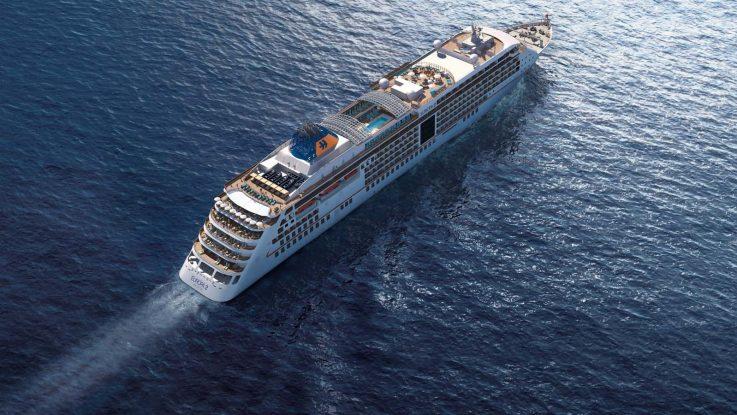 Die Europa2 von Hapag Lloyd Cruises. Foto: Hapag Lloyd Cruises