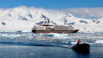 Die L'Austral auf Expeditionskreuzfahrt. Foto: Ponant/Nathalie Michel