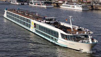 Noch ist die Asara auf dem Rhein unterwegs (Foto). Im Juni wechselt sie auf die Donau. Foto: Phoenix Reisen/Oliver Asmussen