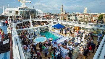 Europas Beste findet 2017 auf einer Kurzkreuzfahrt von Hamburg nach Helgoland und zurück statt. Foto: Hapag Lloyd Cruises