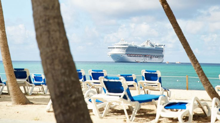 Princess Cay ist der Privatstrand von Princess Cruises. Foto: Princess Cruises