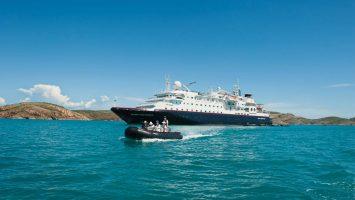 Die Silver Discoverer hat erstmals Bangladesch angelaufen. Foto: Silversea Cruises
