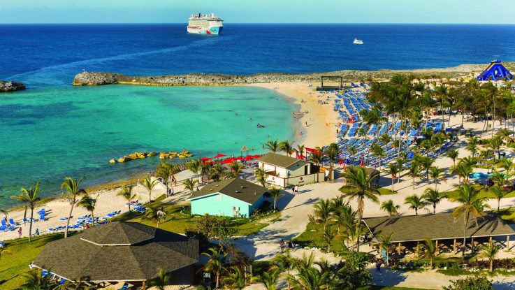 Great Stirrup Cay von Norwegian Cruise Line. Foto: Norwegian Cruise Line