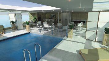 An Bord der Amadeus Queen wird es einen Indoor Pool geben. Foto: Lüftner Cruises