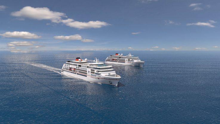 Die beiden Neubauten werden die Hanseatic ersetzen.Foto: Hapag Lloyd Cruises