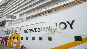 Die Norwegian Joy ist getauft. Foto: Norwegian Cruise Line