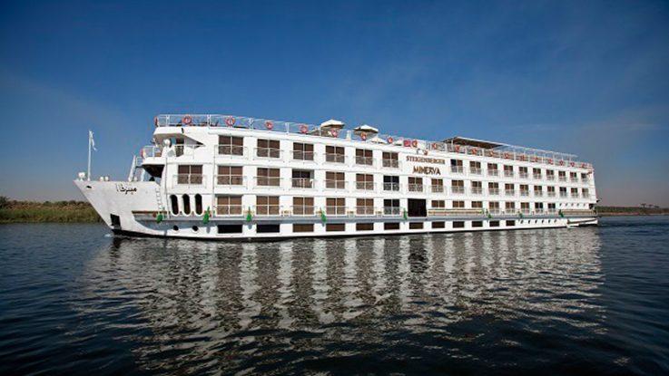 Die MS Minerva fährtin Ägypten. Foto: nicko cruises