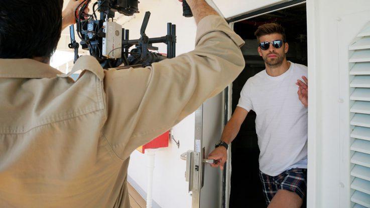 Piqué ist der Star der neuen Video-Kampagne von Costa. Foto: Costa Kreuzfahrten