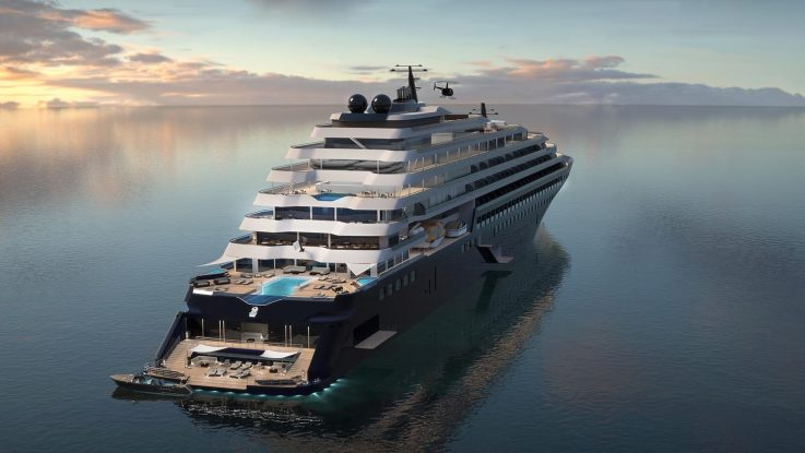 Ritz-Carlton wird mit drei Luxus-Yachten in den Kreuzfahrtmarkt einsteigen. Foto: The Ritz Carlton Yacht Collection